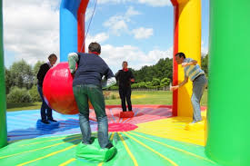 animations olympiades gonflables Team Building entreprise 91 Essonne